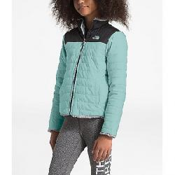 The North Face Girls' Reversible Mossbud Swirl Jacket Windmill Blue