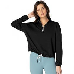 Beyond Yoga Women's By Request Cropped Pullover Black