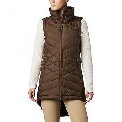 Columbia Women's Heavenly Long Vest Olive Green