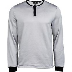 United By Blue Men's Standard LS Henley Grey