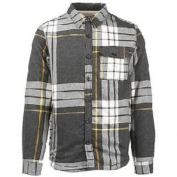 The North Face Men's Campshire Shirt Grey Heather Icon Exploded Four Color Plaid