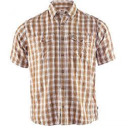 Fjallraven Men's Abisko Cool SS Shirt Dark Sand