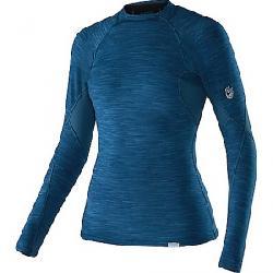 NRS Women's HydroSkin 0.5 LS Top Moroccan Blue