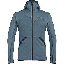 Salewa Men's Puez Melange PL Full Zip Hoody Flint Stone