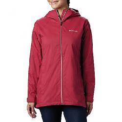 Columbia Women's Switchback Lined Long Jacket Red Orchid/Red Orchid Lining