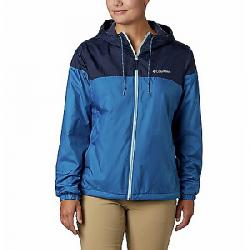 Columbia Women's Flash Forward Lined Windbreaker Jacket Dark Pool/Nocturnal