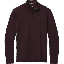 Smartwool Men's Sparwood Half Zip Sweater Woodsmoke Heather