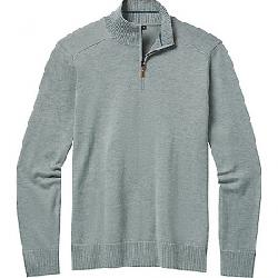 Smartwool Men's Sparwood Half Zip Sweater Lunar Grey Donegal