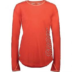 Mons Royale Women's MTN X LS Top Poppy / Coral