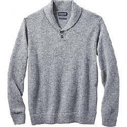 Pendleton Men's Shetland Shawl Pullover Grey Heather