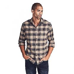 Faherty Men's Stretch Seaview LS Shirt Evans Range Buffalo