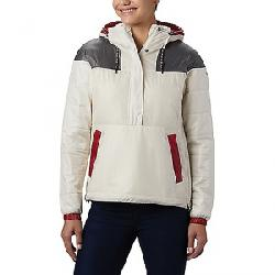 Columbia Women's Columbia Lodge Pullover Jacket Shiny Chalk / City Grey / Beet