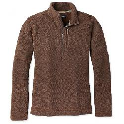 Smartwool Men's Hudson Trail Fleece Half Zip Sweater Bourbon Heather