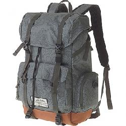 Kavu Camp Sherman Backpack Green Topo