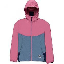 Herschel Supply Co Women's Packable Wind Jacket Heather Rose / Blue Mirage
