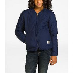 The North Face Girls' Sierra Quilted Cardigan Montague Blue