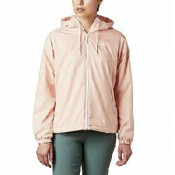 Columbia Women's Flash Forward Lined Windbreaker Jacket Peach Cloud