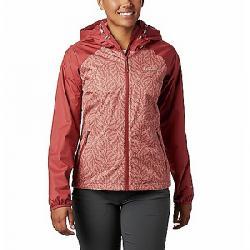 Columbia Women's Ulica Jacket Dusty Crimson/Cedar Blush Ferny Print