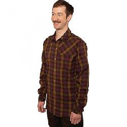 Club Ride Men's Shaka Flannel II Shirt Burnt Cayenne