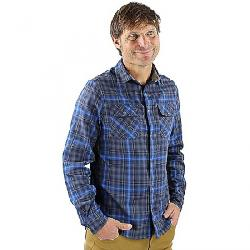 Club Ride Men's Daniel Flannel Grey / Navy