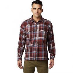Mountain Hardwear Men's Woolchester LS Shirt Dark Umber