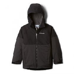 Columbia Boys' Toddler Alpine Action II Jacket Black Heather/Black