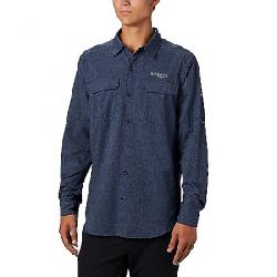 Columbia Men's Irico LS Shirt Collegiate Navy