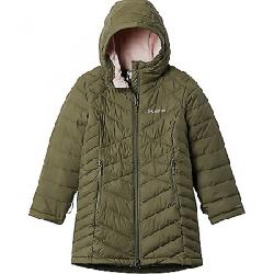 Columbia Girls' Heavenly Long Jacket Stone Green