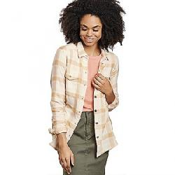 Toad & Co Women's Re-Form Flannel Shirt Oatmeal
