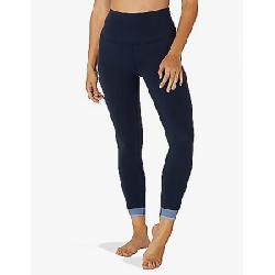 Beyond Yoga Women's Crossed For Words High Waisted Midi Legging Nocturnal Navy