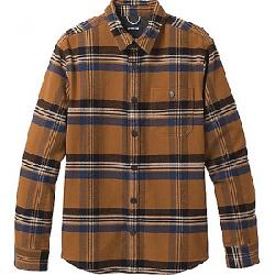 Prana Men's Lando Flannel Shirt Walnut