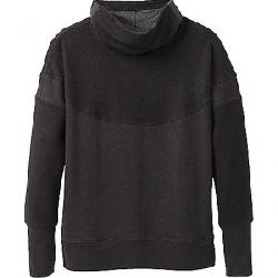 Prana Women's Cozy Up Turtleneck Charcoal Heather
