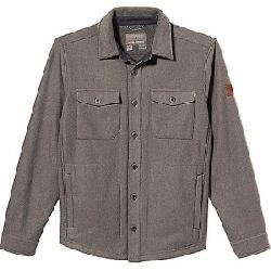Royal Robbins Men's Connection Grid Shacket Pewter