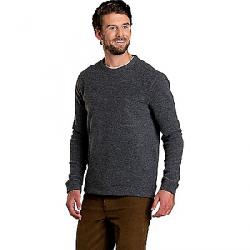 Toad & Co Men's Breithorn Crew Sweater Charcoal Heather