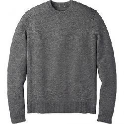 Smartwool Men's Sparwood Crew Sweater Medium Gray Donegal