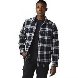 Prana Men's Wedgemont Flannel Shirt-Slim Black