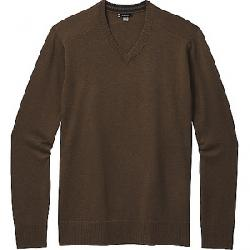Smartwool Men's Sparwood V-Neck Sweater Military Olive Heather