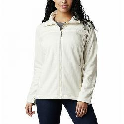Columbia Women's Northern Canyon Hybrid Full Zip Jacket Chalk