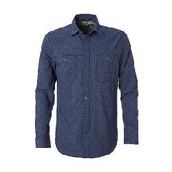 Royal Robbins Men's Long Distance Traveler LS Shirt Deep Blue