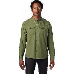 Mountain Hardwear Men's Crystal Valley LS Shirt Field