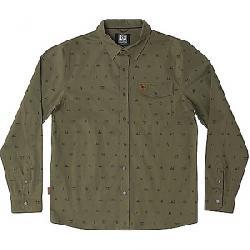 HippyTree Men's Exposure Woven Shirt Military