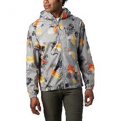 Columbia Men's Flash Forward Printed Windbreaker Jacket Columbia Grey Tropical N Monsteras