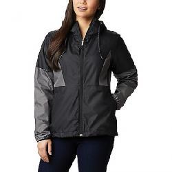 Columbia Women's Side Hill Windbreaker Jacket Black/City Grey