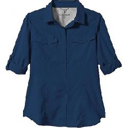 Royal Robbins Women's Expedition Dry LS Shirt Deep Blue