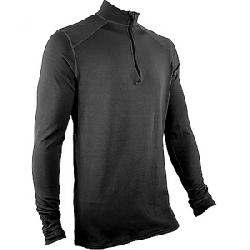 Polarmax Men's Heavyweight Zip Mock Black