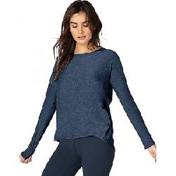 Beyond Yoga Women's Draw the Line Tie Back Pullover Insignia Navy