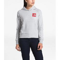 The North Face Women's Recycled Materials Pullover Hoodie TNF Light Grey Heather / TNF Red