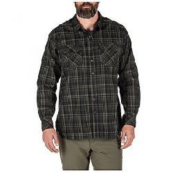 5.11 Men's Peak LS Shirt Oil Green Plaid