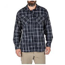 5.11 Men's Peak LS Shirt Peacoat Plaid