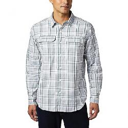 Columbia Men's Silver Ridge 2.0 Plaid LS Shirt Rain Forest Grid Plaid